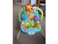 Baby bouncer and baby play mat