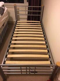 2 Single bed frames for sale, no mattresses.