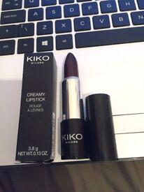 Kiko Milano Creamy Lipstick Shade 01 Blackberry