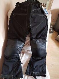 Unworn Biker Padded Trousers