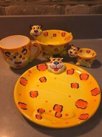Children's Lazy Lion Breakfast set