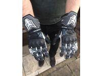 Wolf Motorbike Gloves