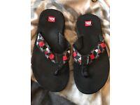 Men's quiksilver flip flops