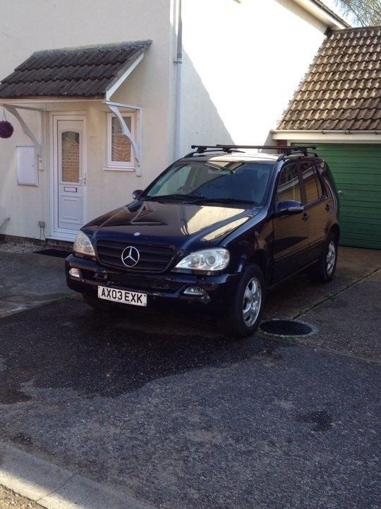 2003 Mercedes ML 270 Diesel Auto 7 Seater with 148.900 miles.