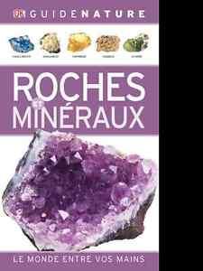 Livre Roches et Minéraux - Ronald Louis Bonewitz - 2012