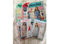 Simply sewing mags and patterns