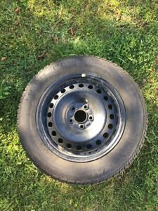 Winter tires with rims 215/60R16 $400
