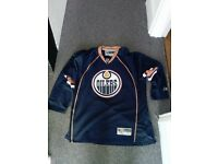 Edmonton Oilers Home Jersey (Used XL)