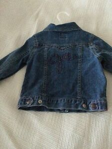 Girls Jean jackets 18m-24m