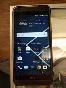 Magnifique cellulaire de marque HTC, model Desire 626s, 16 G, avec Bell/Virgin, en super bon état pour seulement 99.99$!