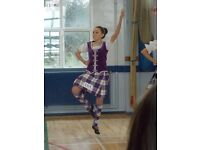 Purple Highland Dancing Full Outfit