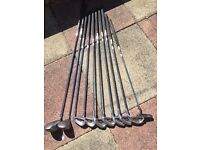 For sale. Golf clubs