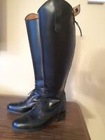 Ladies English riding boots. Field boots. Size 7.5. Regular calf