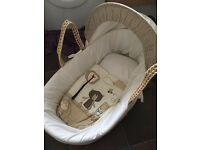 Moses Basket & Fitted sheets