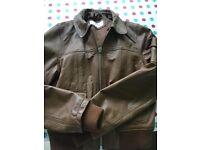 Size 8/10 ladies urban code leather jacket