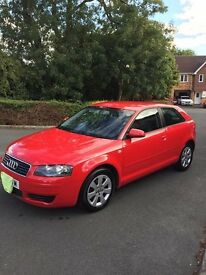 Audi A3 with personalised plate