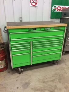 Coffre Snap-on master extrem green
