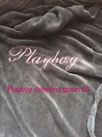 Playboy dressing gown