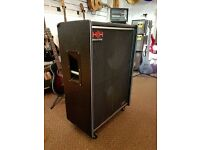 """H&H 215 Bass Cabinet - 2x15"""" Speakers 200 Watts (with casters)"""