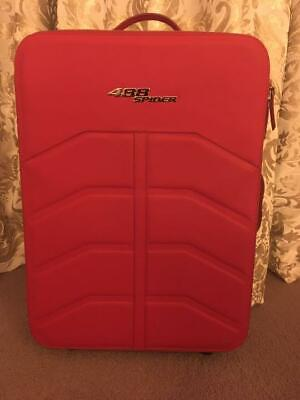 Ferrari 488 Spider Suitcase Carry Bag Red Limited from Japan Free Shipping
