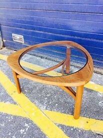 Mid Century Teak Coffee Table by Nathan - Retro and Vintage