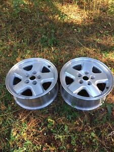"""2 mag 16"""" NEUF pour Jeep Liberty"""