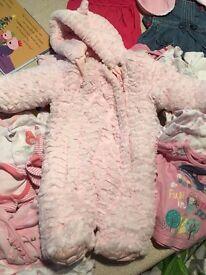newborn,first size and 0-3 mths girl bundle