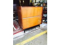 Beautiful Retro G Plan Tola Writing Bureau/ Drinks Cabinet