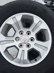 Brand New Chevy Rims and Tires