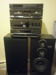 Technics Stereo and Speakers