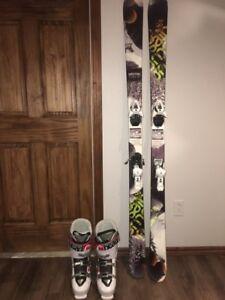 Ski Alpin Twin pour garçon