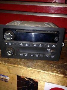 Chevrolet factory radio