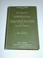 Manuali Hoepli - Costruzioni In Calcestruzzo Ed Il Cemento Armato - Ed. 1921 -  - ebay.it