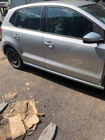 BREAKING Volkswagen Polo Moda 60 1.2 Silver Hatchback Door glass window front rear offside nearside