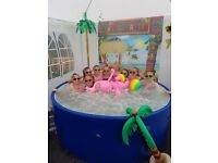 Hot Tub Hire from £7 a night! PARTY HOT TUBS