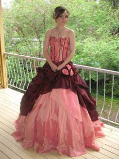 Spectacular formal dress (gown). Worn once!!