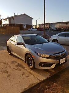 2016 Honda Civic EX-T sedan, mint condition