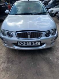 BREAKING Rover 25 Impression S3 5dr 1.4 Silver bumper wing door window glass front rear offside ns