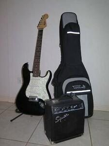 Fender Electric Guitar Mount Sheridan Cairns City Preview