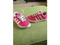 Size 10 Girls Trainers