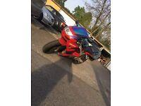 Kawasaki Ninja ZX-6RR 600cc (1998)Low miles - Alarm - MOT -not 125cc honda suzuki yamaha cbr triumph
