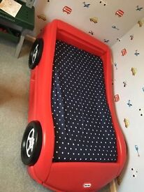 Little tikes toddler bed with mattress