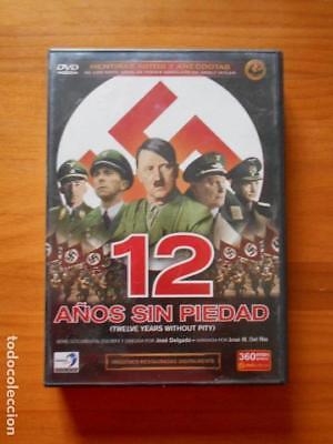 DVD 12 AÑOS SIN PIEDAD (PACK 6 DVD'S) -DOCUMENTAL JOSE DELGADO -ADOLF HITLER (O3, usado segunda mano  Almayate