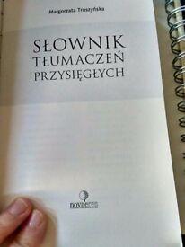 Słownik tłumaczeń przysięgłych Małgorzata Truszyńska DPSI polish scots law dictionary