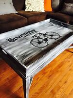 table a bicyclette