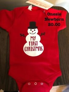Handmade Onesies and shirts