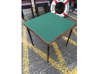 Antique Folding Card/ Games Table