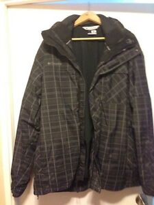 Columbia interchangeable winter coat