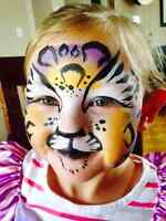 Gettin' Cheeky Face Painting