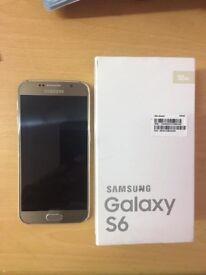 Samsung s6 gold - unlocked